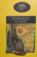 11552 - Fendant Du Valais 1982 Caves Imesch Sierre - Etiketten