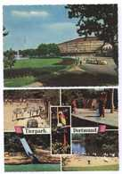 2x Dortmund Westfalenhalle U. Fernsehturm 1964 + Tierpark 1969 - Dortmund