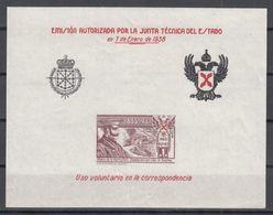 REQUETES, 1938 GALVEZ Nº 13 /**/ SIN FIJASELLOS. SIN DENTAR. - Emisiones Nacionalistas