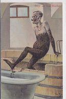 Cpa -illustr. -arthur Thiele--n°13-caricature Kaiser Guillaume-gruss Aus Dem Moordad (1899 ) - Thiele, Arthur