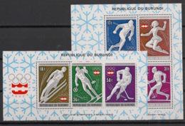 Burundi - 1976 - N°Mi. Bloc 90 à 91 - Innsbruck / Olympics - Neuf Luxe ** / MNH / Postfrisch - Burundi