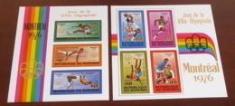 Burundi - 1976 - N°Mi. Bloc 92 à 93 - JO Montreal / Olympics - Neuf Luxe ** / MNH / Postfrisch - Burundi