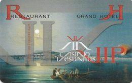 ROMANIA KEY CASINO Casino Vesuvius - Bucarest - Casinokarten