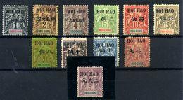 Hoi-Hao Nº 16/24, 27 Y 31. Años 1903/1904 - Hoï-Hao (1900-1922)