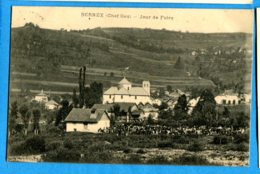 COV1188, Bernex, Jour De Foire, Circulée 1921 - Andere Gemeenten