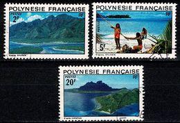 Polynesie 1974 Yv. 97/98, 102 - French Polynesia