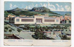 CPA GRECE . ATHENES . MUSEE ARCHEOLOGIQUE - Greece