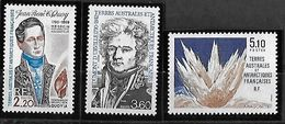 TAAF FSAT. Yt N° 151, 152, 153 & Yt 154, 155, 156, 157 - Unused Stamps