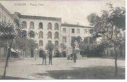 SASSARI - PIAZZA TOBA  ( Animées ) - Sassari