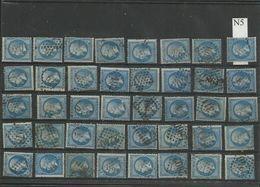 Plaquette De 40 Numéros 22  Lot 5 - 1862 Napoléon III