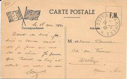 Carte Postale , Poste Aux Armées , écrite 18-05-1940 - Weltkrieg 1939-45