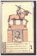 BASEL - STENOGRAPHENVEREIN 1913 - B ( AMINCI AU DOS VERS LE TIMBRE ) - BS Basel-Stadt