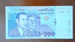 BILLET MAROC - UNC OU EXCELLENT - DIRHAM MAROCAIN 200 - ANNEE 2002 - Morocco