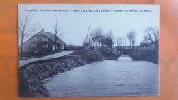 Montreux Chateau - Canal Du Rhone Au Rhin - Frontiere Franco Alsacienne - Other Municipalities