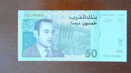 BILLET MAROC - UNC OU EXCELLENT - DIRHAM MAROCAIN 50 - ANNEE 2002 - Morocco