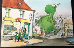 Carte Postale GODI Scoutisme Et Démocratie 1993 - Comics