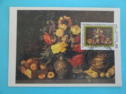 CARTE MAXIMUM CARD DE FLEURS ET DES FRUITS PAR I. CHROUTZKY MADAGASCAR - Other