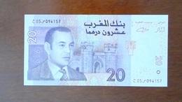 BILLET MAROC - UNC - DIRHAM MAROCAIN 20 - ANNEE 2005 - Marruecos