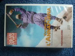 VICTOIRE DE L'ANNAPURNA M.HERZOG ET L.LACHENAL CHAMONIX - Video Tapes (VHS)