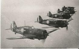 PHOTO AVION            Curtiss H-75 Français      RETIRAGE REPRINT - Aviation