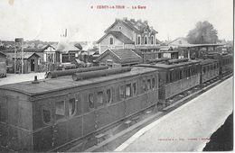 58 - NIEVRE - CERCY La TOUR - Gare - Train - Wagon - Wagons - - Autres Communes