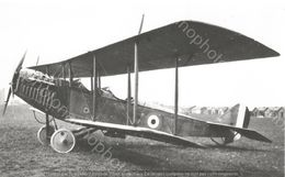PHOTO AVION        Curtiss JN-4 RFC 8821       RETIRAGE REPRINT - Aviation