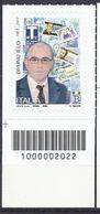 Italia / Italien 2020 Bruno Ielo Con Codice A Barre/ Postfrisch Mit Strichkode - Bar Codes