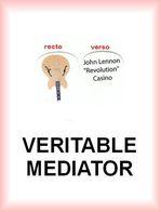 GUITARE JOHN LENNON REVOLUTION CASINO MEDIATOR Medium PLECTRUM Guitar Pick - Accessoires, Pochettes & Cartons