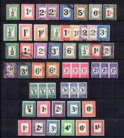 Afrique Du Sud Belle Collection De Timbres Taxe Neufs **/* 1911/1958. Bonnes Valeurs. B/TB. A Saisir! - Afrique Du Sud (...-1961)