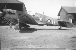 PHOTO AVION           CURTISS P 40 GC 25 2° ESCADRILLE AFN      RETIRAGE REPRINT - Aviación