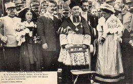 CP 54 Meurthe Et Moselle Mars La Tour 16 Août 1910 Chanoine Faller Curé Décoré Par Général Couturier - Sonstige Gemeinden
