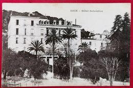 CPA-NICE-ALPES MARITIMES-06-HOTEL BELVEDERE - Cafés, Hotels, Restaurants