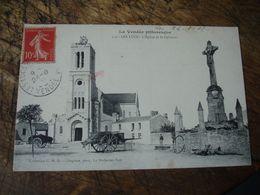 Cpa 85 Les Lucs Place - Les Lucs Sur Boulogne