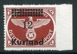 KURLAND  1945 Parcel Post Rouletted  MNH / **. .  Michel 4B - Occupation 1938-45
