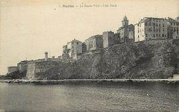 - Corse -ref-A290- Bastia - La Haute Ville - Côté Nord - Phare - Phares -edit Thiriat - Toulouse - N°2- Carte Bon Etat - - Bastia