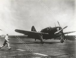 PHOTO AVION            CURTISS SB 2 C 5 HELL DIVER   RETIRAGE REPRINT - Aviation