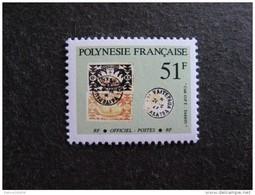 Polynésie:  TB Timbre De Service N° 26, Neuf XX. - Service