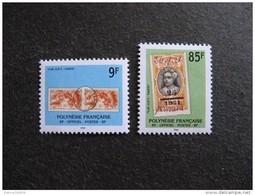 Polynésie:  TB Paire De Timbres De Service N° 27 Et N° 28, Neufs XX. - Service