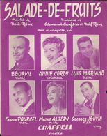 """""""Salade-de-fruits"""" Bourvil, Annie Cordy, Luis Mariano, Franck Pourcel, Mathé Altéry, Georges Jouvin. - Musik & Instrumente"""