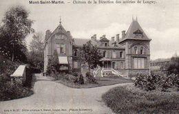CP 54 Meurthe Et Moselle Mont-Saint-Martin Château De La Direction Des Aciéries Longwy - Mont Saint Martin