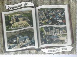 SOUVENIR DE GAILLEFONTAINE  ( 4 VUES ) - Non Classés