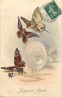 Themes Div-ref EE715- Illustrateurs -illustrateur M M Vienne -munk M -nr 552- Papillon -papillons Humanisée -surrealisme - Insects