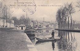 CP 54 Meurthe Et Moselle Maxeville Terminus Nancy Brasseries Port Du Canal - Maxeville