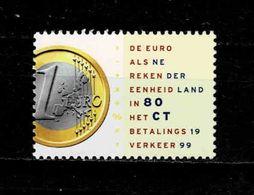 1999  Euro Als Bancaire Rekeneenheid   MNH - Unused Stamps