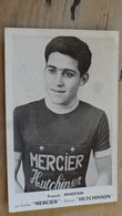 CYCLISME : Francis ANASTASI, Cycles Mercier .................. OJ-4941 - Cyclisme