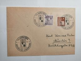 Deutsche Briefumschlag  1951 Bayerische Schulwoche - [7] République Fédérale