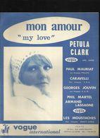 """""""Mon Amour"""" """"My Love"""" Petula Clark - Texte Original Et Musique Tony Hatch - Musik & Instrumente"""