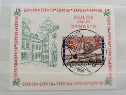 BELGIQUE:1958 EXPO 58 Hommage à La Dynastie - Cartes Souvenir