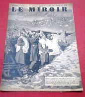 WW2 Le Miroir N°23 4 Février 1940 La Guerre Au Jour Le Jour,Coiffures Soldats De L'Empire Chéchias Rhezzas Talpacks... - Magazines & Papers