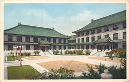 CPA Asie Chine The College Court : Anatomy And Chemistry Buildings Peking Beijing Pékin Hartung's Photo Shop - Chine